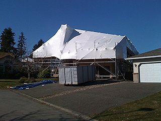 Shrink Wrap Roof Llc Shrink Wrapping Your Roof From The